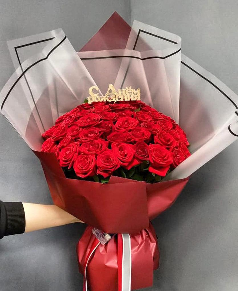 впечатление подарочные букеты роз фото них московская
